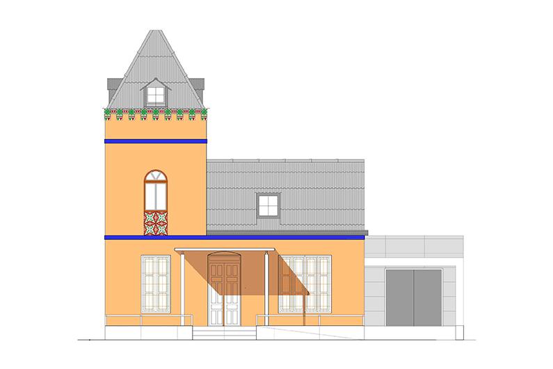 Reconstrucción Casa de Las Palomas.