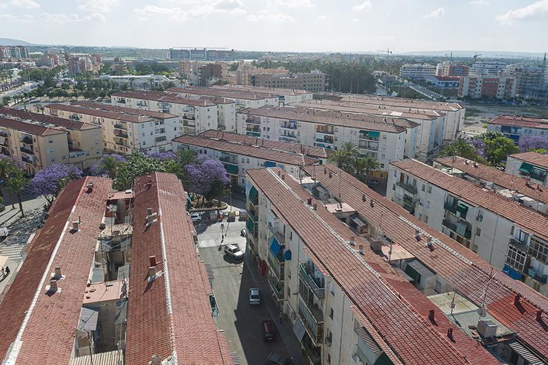 Avances en la renovación urbana del Barrio San Antón.