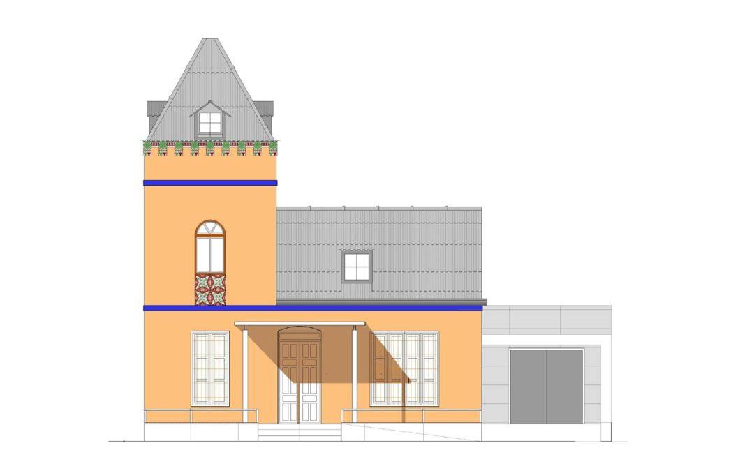 """Licitación de la reconstrucción de la """"Casa de las Palomas"""""""