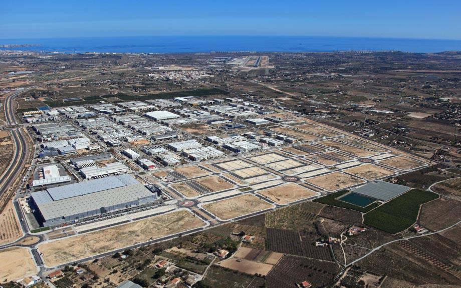 Avanços en l'ampliació d'Elx Parc Empresarial