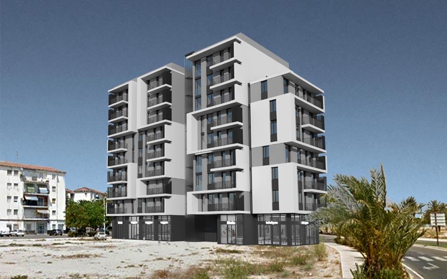 Presentación del diseño del cuarto edificio de San Antón