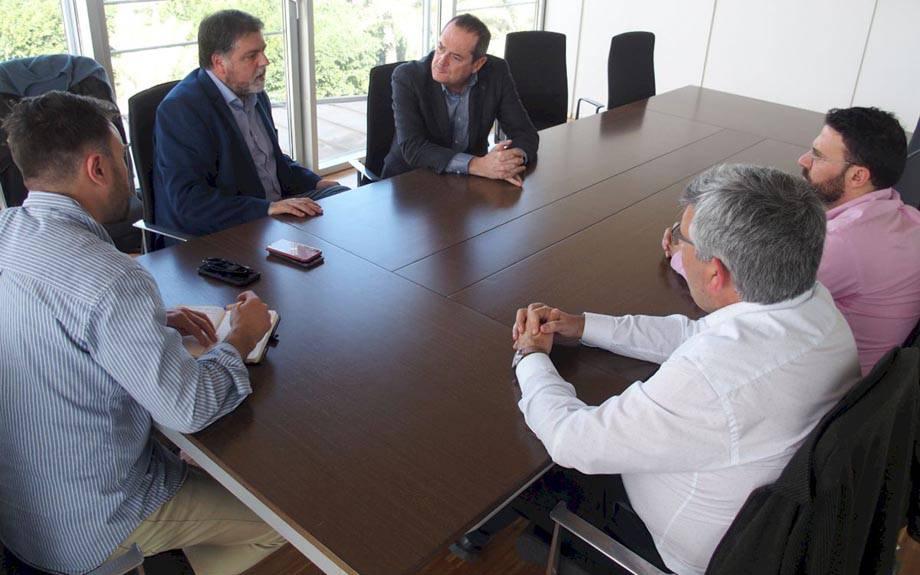 El Alcalde de Villena visita PIMESA para conocer sus experiencias de gestión