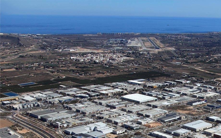 Modificación del Plan General para la ampliación de Elche Parque Empresarial en 600.000 metros cuadrados