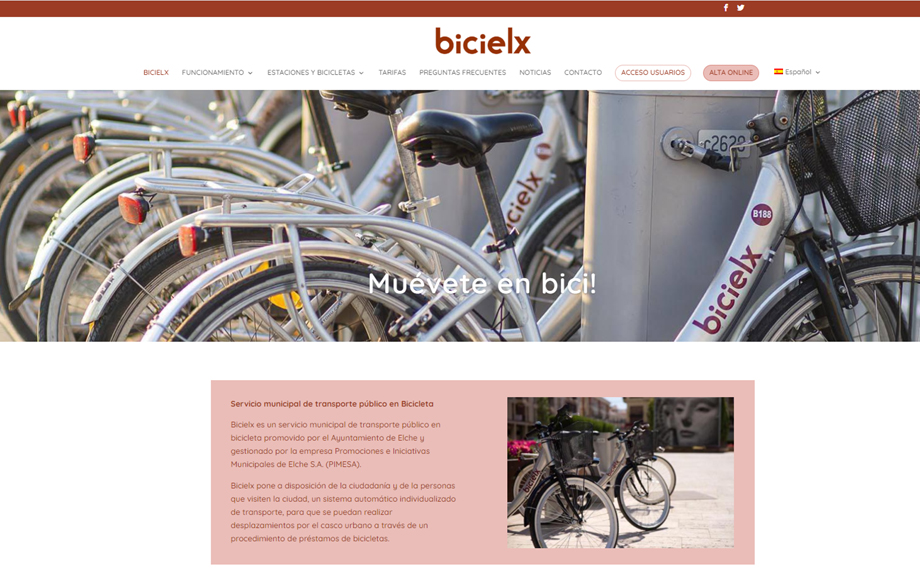 BICIELX estrena nueva web