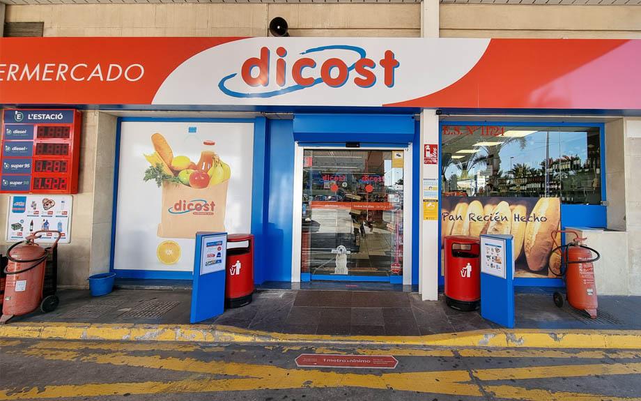 Nueva tienda DICOST en la Gasolinera L'Estació