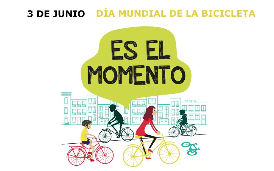 El día 3 de junio se celebra el día mundial de la bicicleta